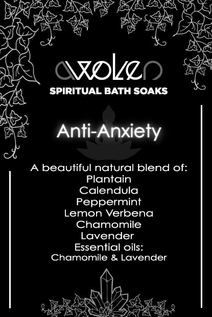 Bath Soak: Anti-Anxiety