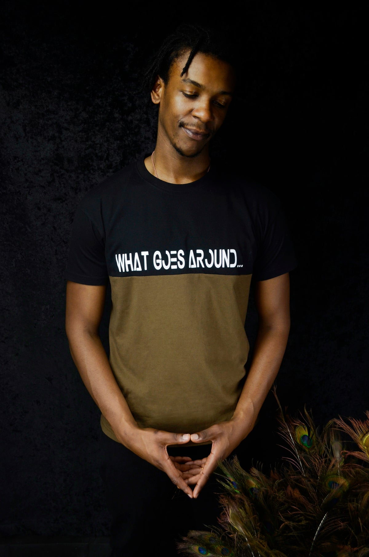 What Goes Around T-Shirt - Earth