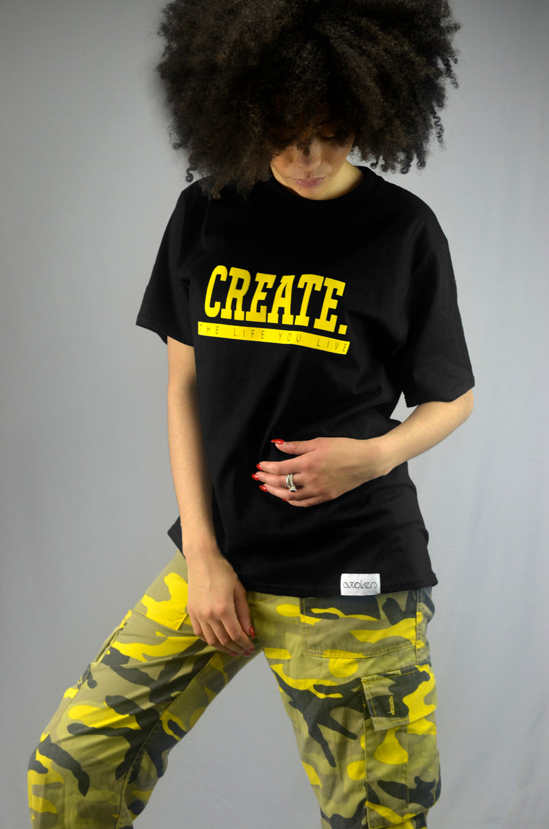 Create T-Shirt - Black