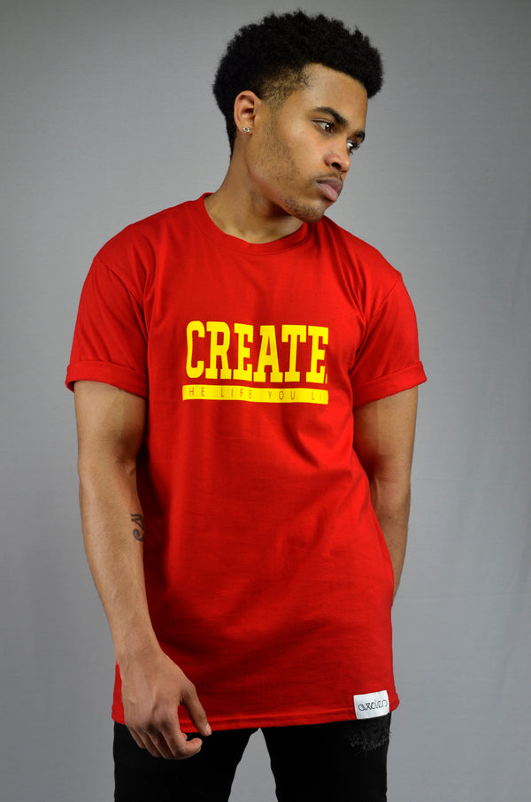 Create T-Shirt - Red