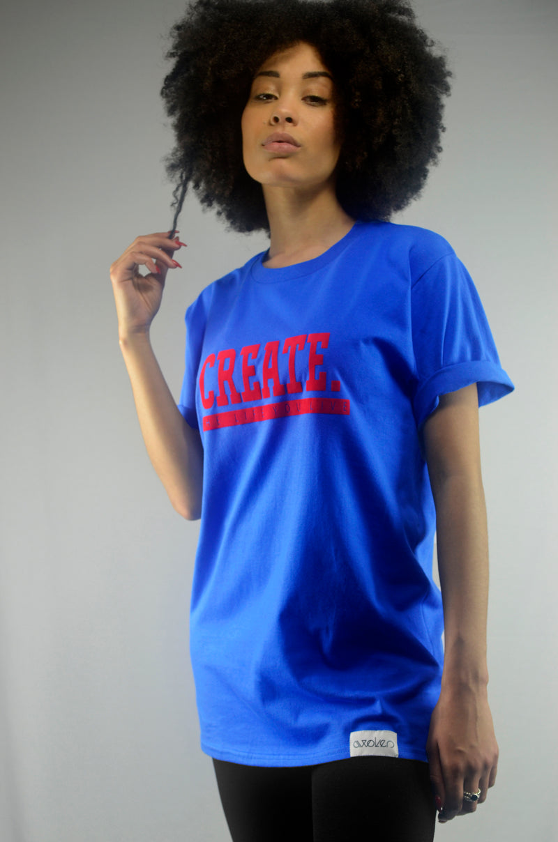 Create T-Shirt - Blue