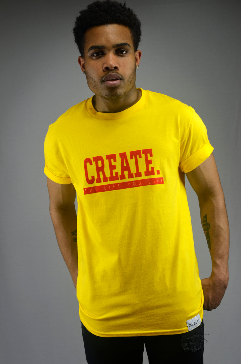 Create T-Shirt - Yellow