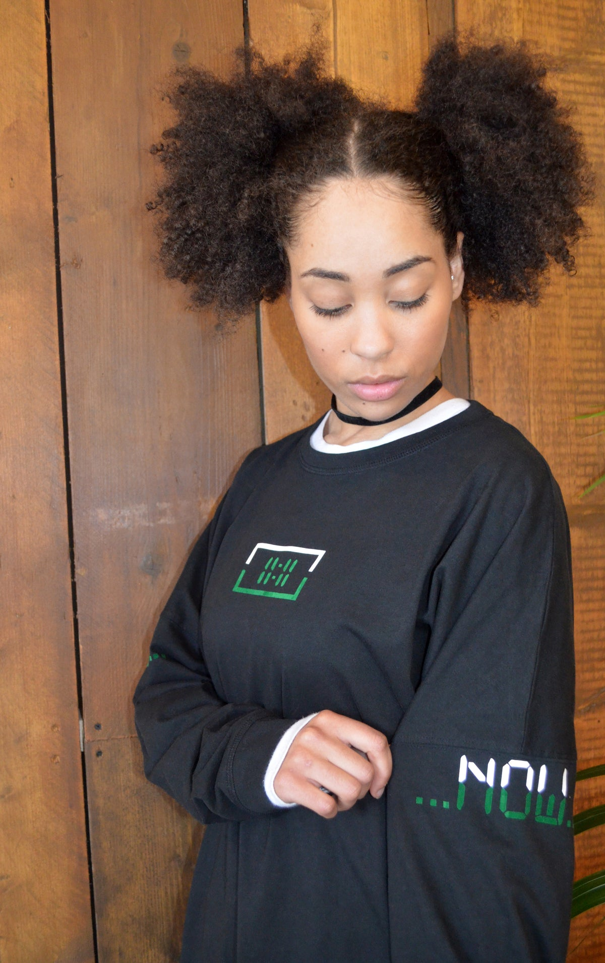 11:11 Long Sleeve T-Shirt - Green