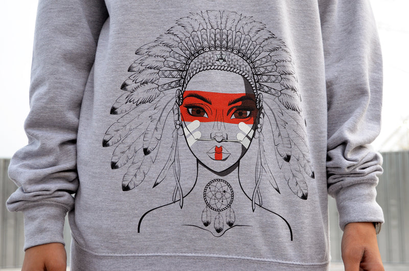 Native Girl Jumper