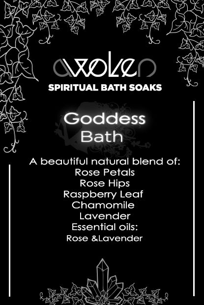 Bath Soak: Goddess