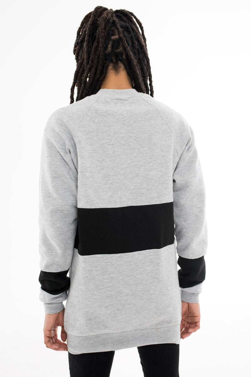 Ankh Sweatshirt - Grey & Black