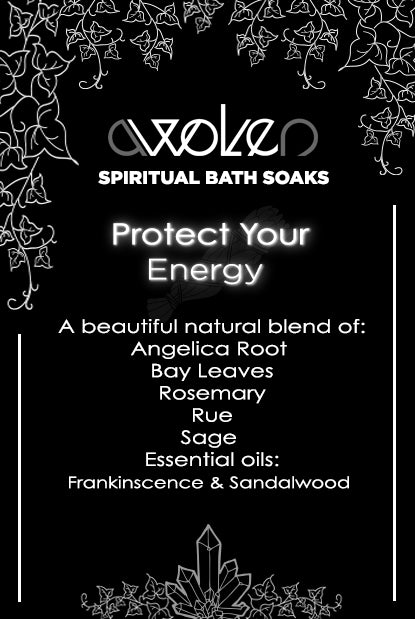 Bath Soak: Protect Your Energy