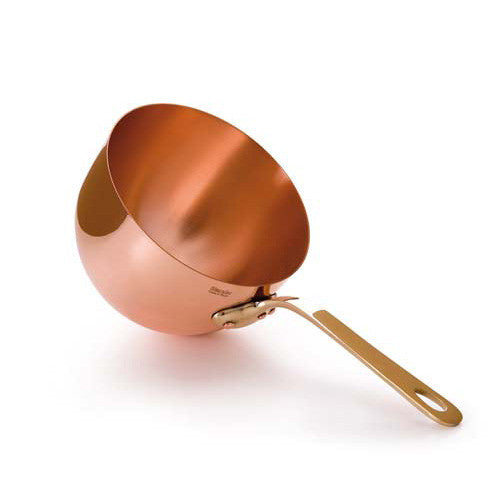 Copper Zabagliones With Brass Handle