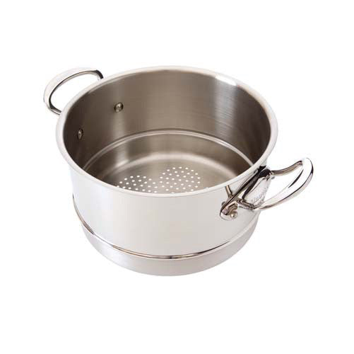 Stainless Steel Steamer Insert With Stainless Steel Handles