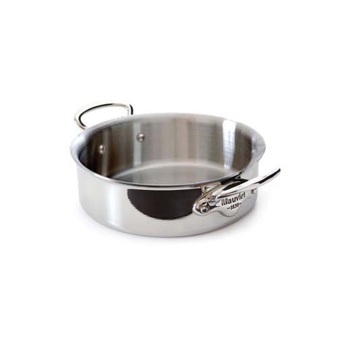 Stainless Steel Sautepan With Lid & Stainless Steel Handles
