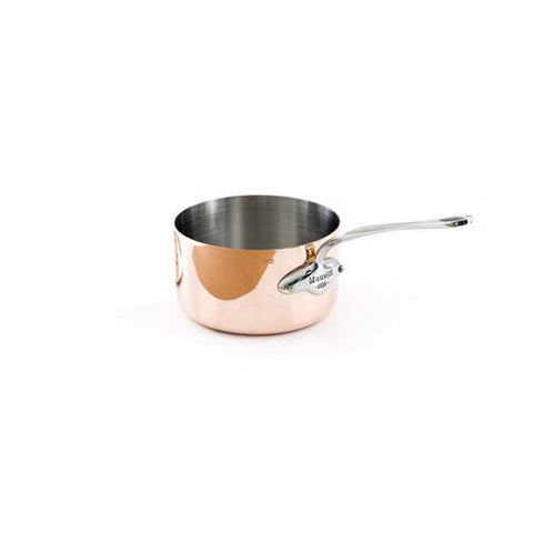 Copper Saucepan With Stainless Steel Handle