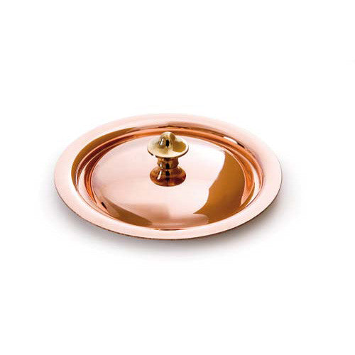 Mini Copper Lid With Bronze Handle
