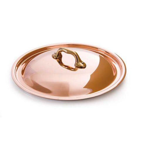 Copper Lid With Bronze Handle