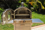 Pacific Living - Stainless Steel Oven With Cart - EcoBrandsNow - EcoBrandsNow