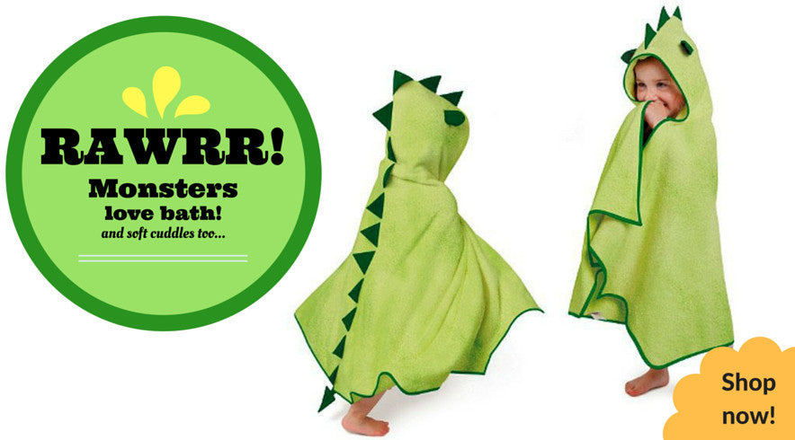 Shop for Cuddle Monster Bamboo Towels!