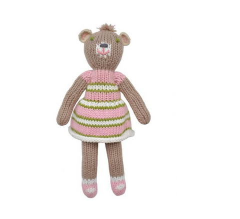 Girl Bear Rattle by Blabla Kids