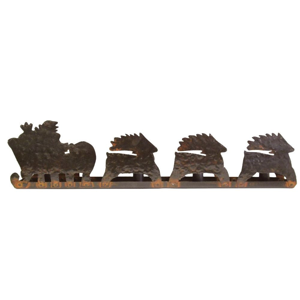 Santa Ed'S Sleigh Candle Stick Holder
