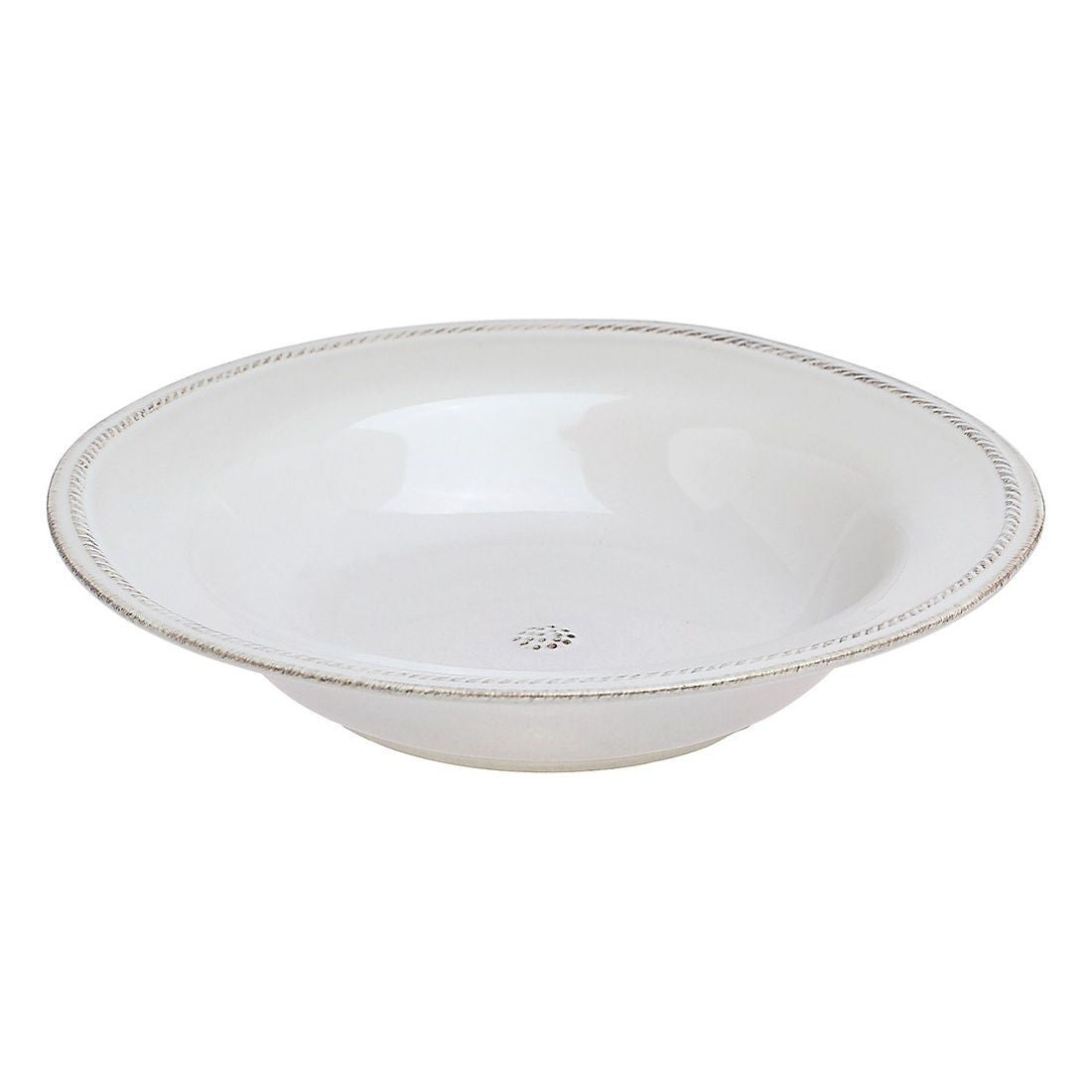 Berry & Thread White Rimmed Soup Bowl