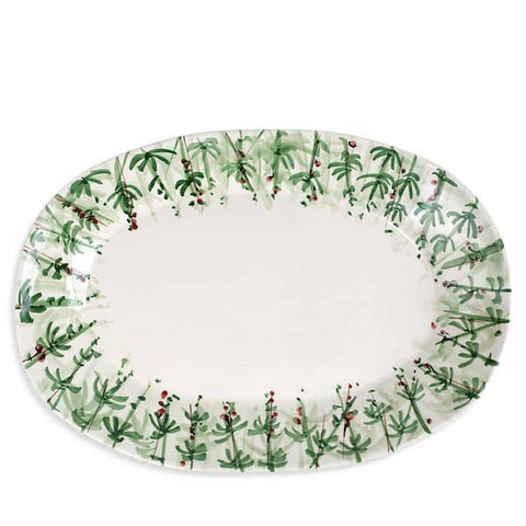 Erbe Rosemary Large Oval Platter