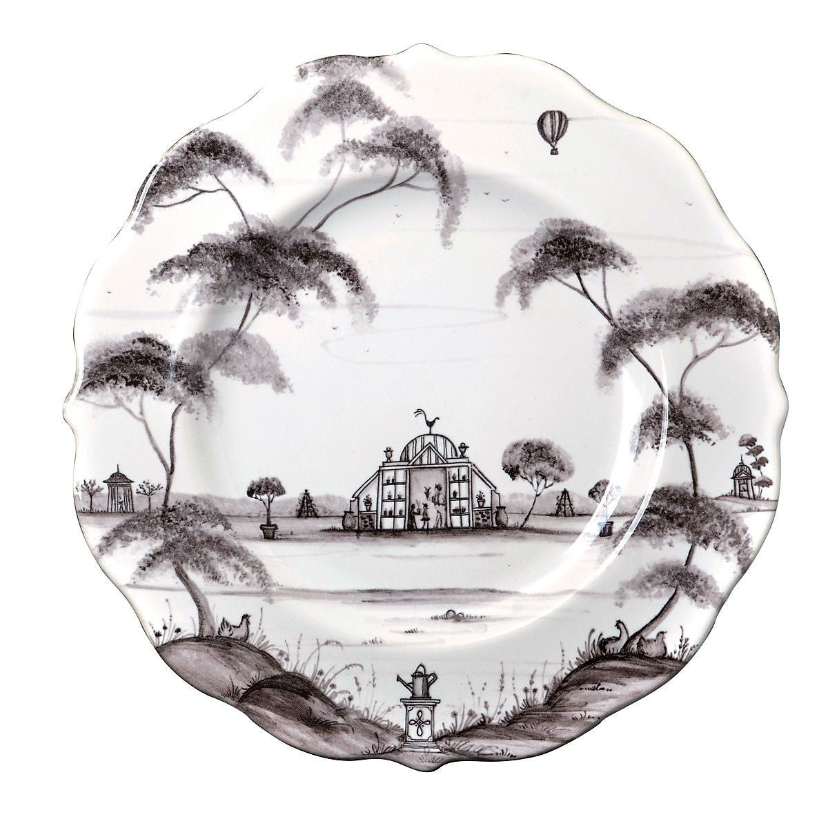 Country Estate Dessert Plate Flint