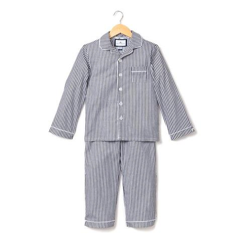 Navy Bengal Striped Classic Pajamas