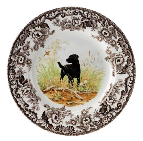 Woodland Hunting Dogs Salad Plate