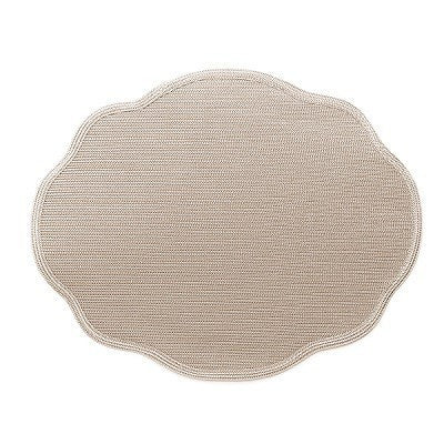 Oval Scallop Placemat