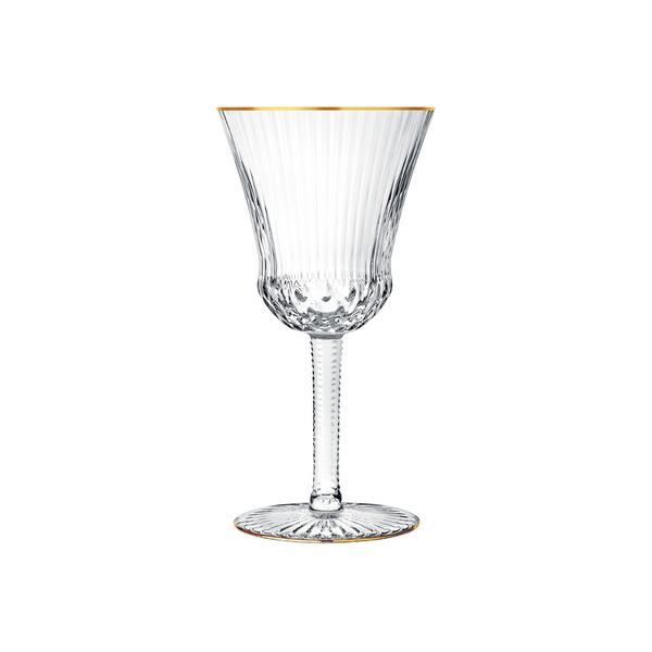 Apollo Gold Rimmed Goblet #1