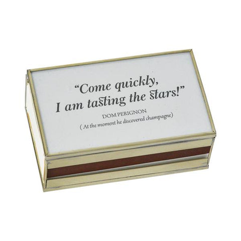 Come Quickly Matchbook Cover