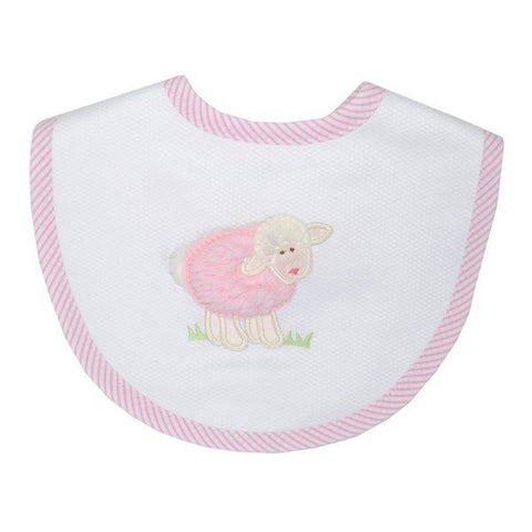 Medium Pink Lamb Bib