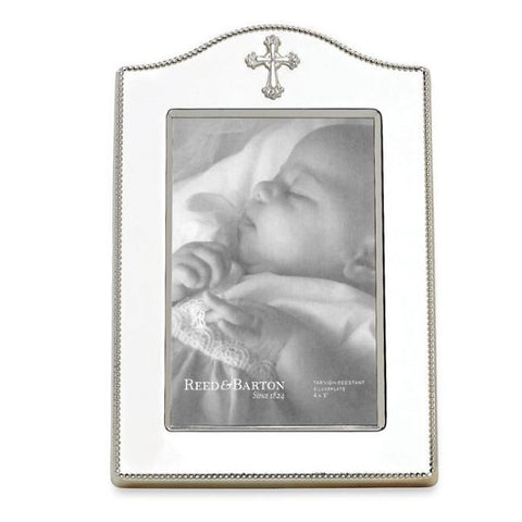 Abbey Cross Silverplate Frame