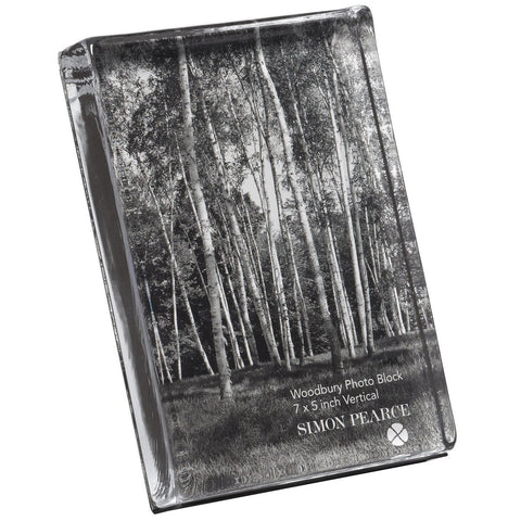 Woodbury Vertical Photo Block in Gift Box