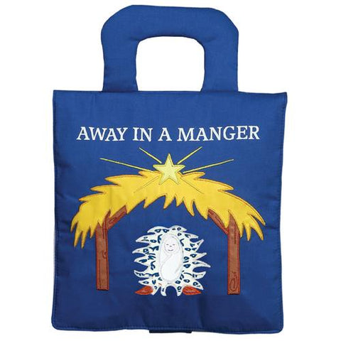 Away in the Manger Playbook-Navy Blue
