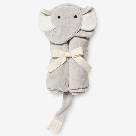 Gray Elephant Bath Wrap