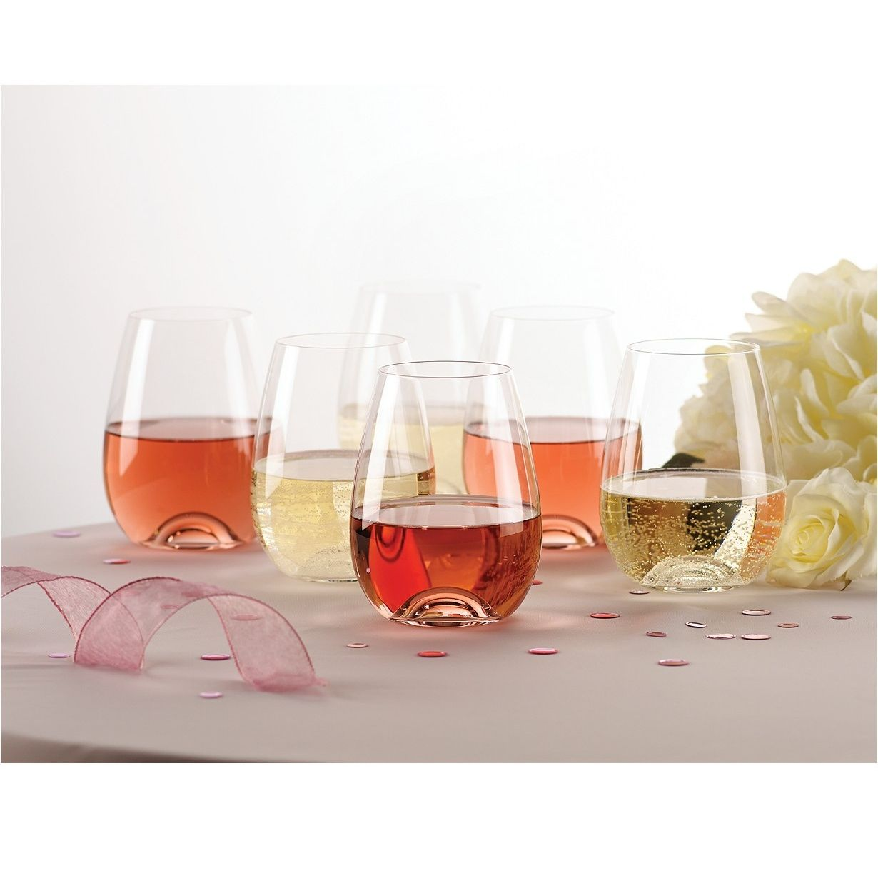 Tuscany Stemless Wine, set of 6