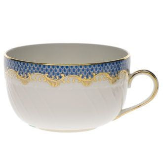 Blue Fish Scale Canton Cup