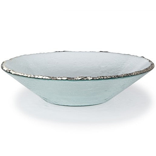 Edgey Platinum Round Bowl