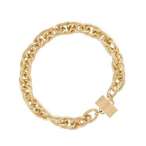 Sheffield 14K Plated Studio Bracelet