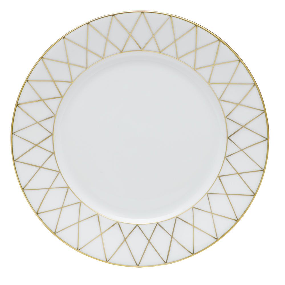 Golden Trellis Bread & Butter Plate