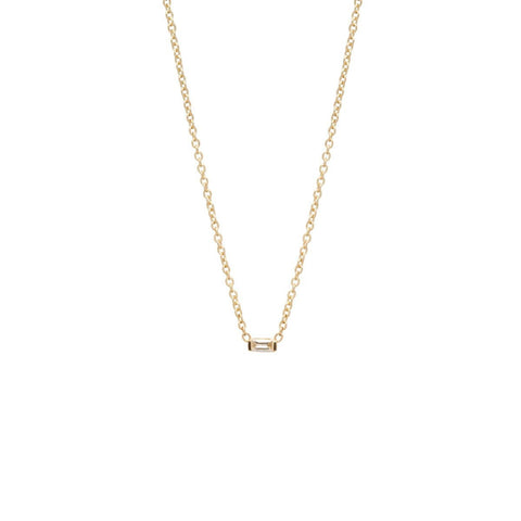 Medium White Diamond Necklace