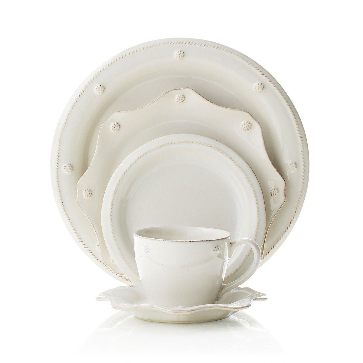 Berry & Thread White Tea Cup