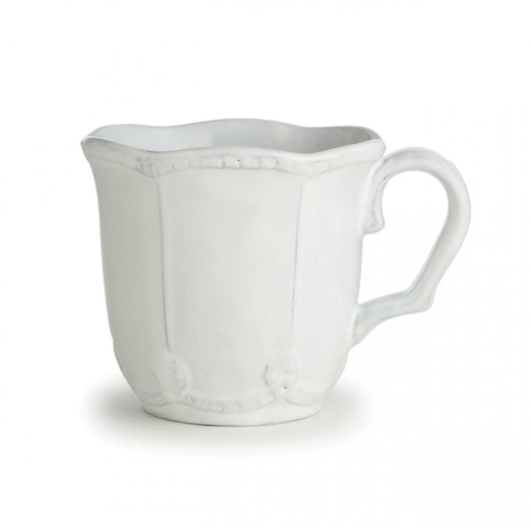 Bella Bianca Beaded Mug