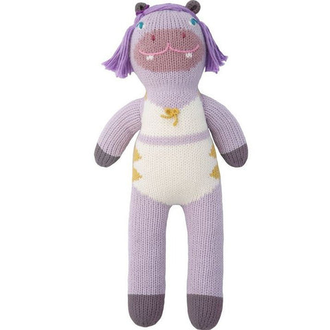 Mini Esther the Hippo Knit Doll
