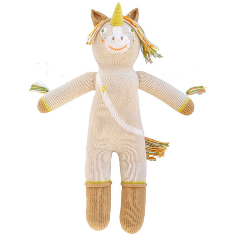 Legend the Unicorn Knit Doll