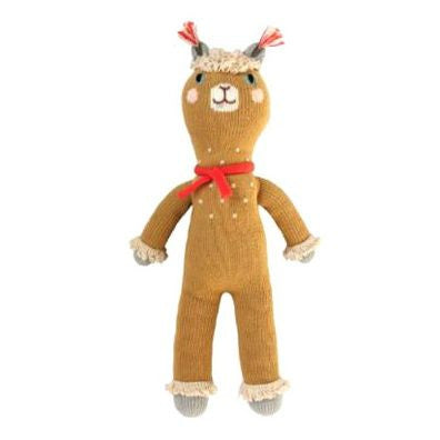 Macchu the Alpaca Knit Doll