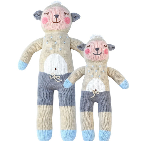 Wooly the Sheep Knit Doll