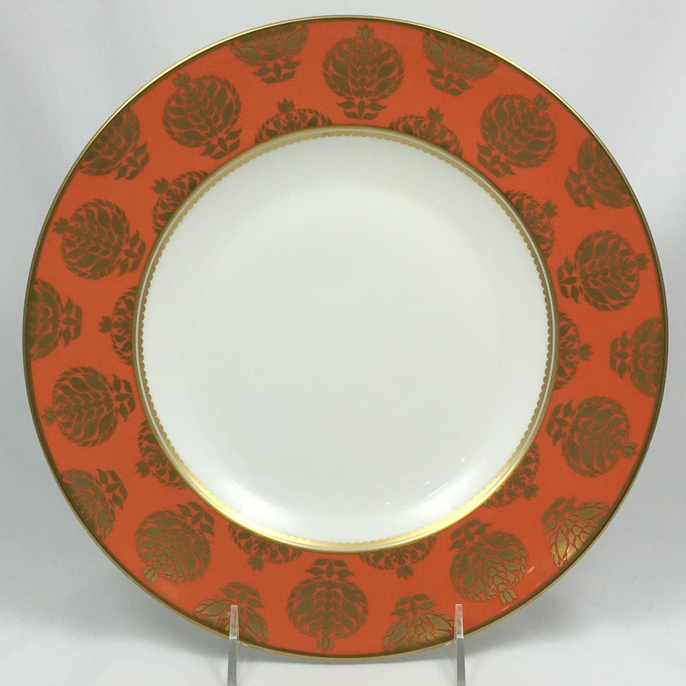 Bristol Belle Orange Border Dinner Plate