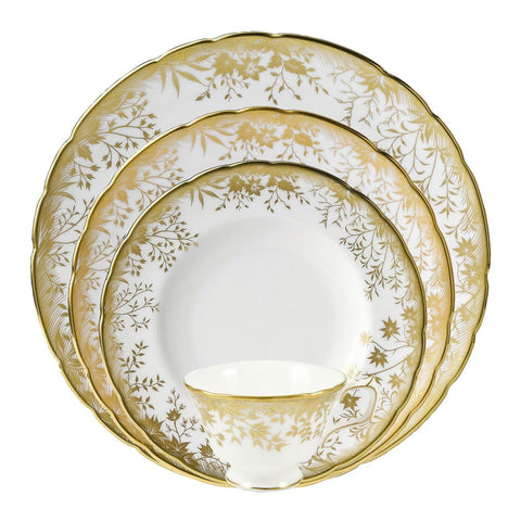 Arboretum Gold Bread And Butter Plate