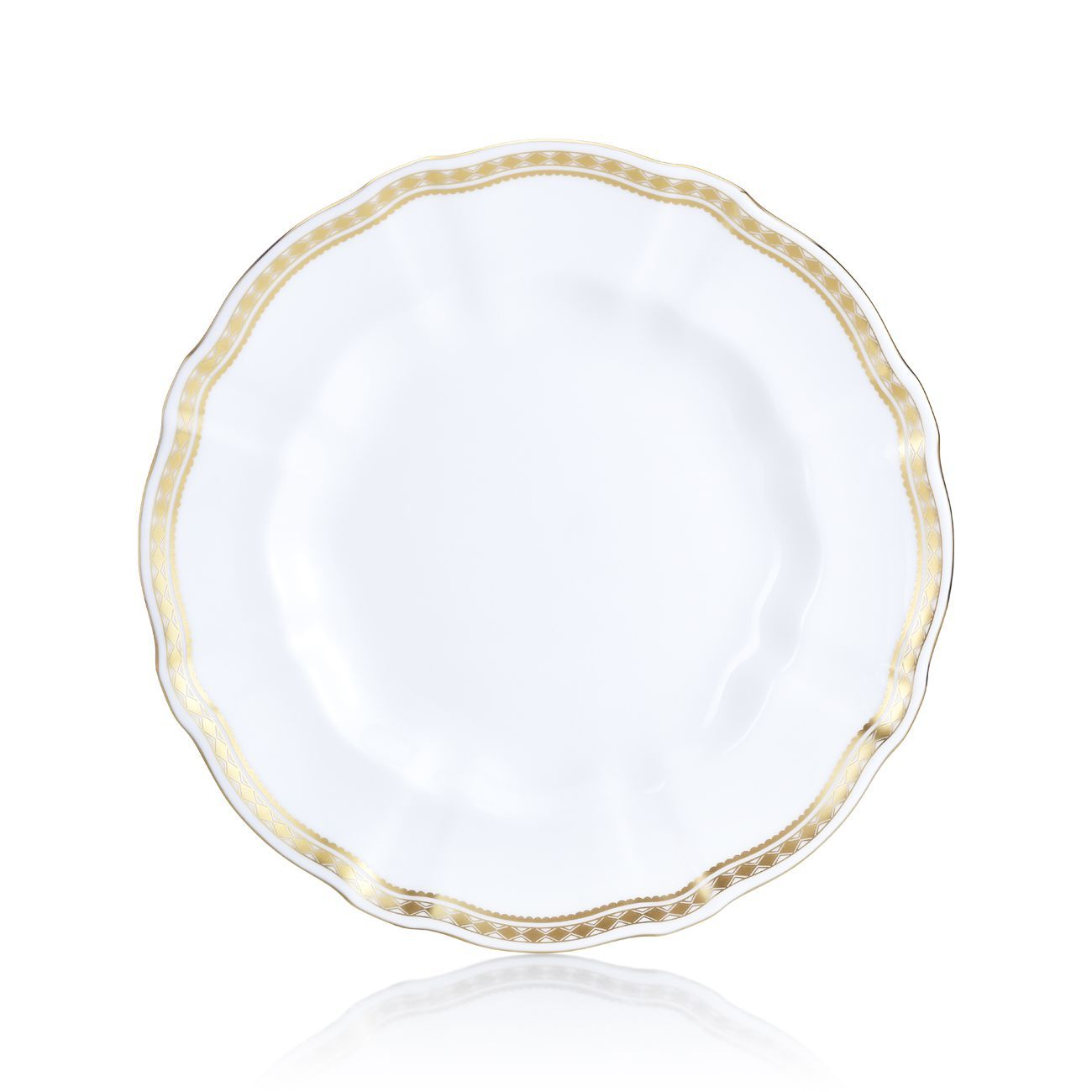 Carlton Gold Salad Plate