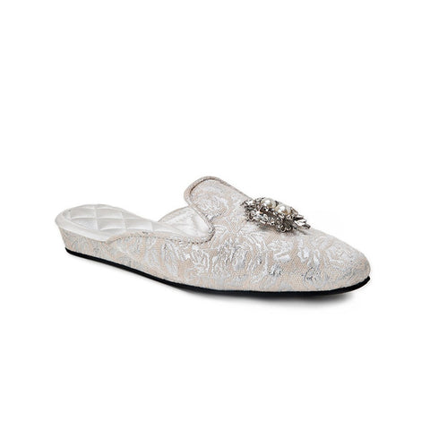 Versailles Brocade Slippers